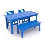 Set garden furniture with bench