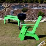 Ławka ogrodowa z Krzesłem Ogrodowym